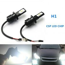 H1 CSP LED Headlights Bulbs Kit High Low Beam DRL Super Bright White 6000LM