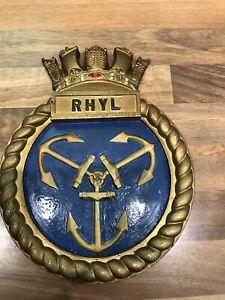 CREST PLAQUE HMS PENZANCE SHIP BADGE
