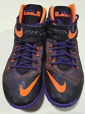 Nike Zoom Soldier 8 Lebron James Black/Purple/Crimson Size 8 US