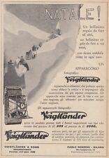 Z5085 Apparecchio fotografico VOIGTLANDER - Pubblicità d'epoca - 1930 vintage ad