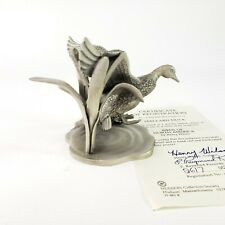 Pewter Mallard Duck Sculpture Birds Of North America By Henry Wilson 2017of6000