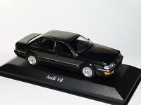 Audi V8 de 1988  Noire au 1/43 de Minichamps / Maxichamps 940016000