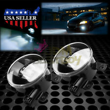 Pair LED 60W Fog Light Lamp Clear Lens Upgrade Aftermarket OEM Replacement F2