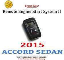 Genuine OEM Honda Accord 4Dr Sedan Remote Engine Start System II 2015