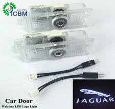 2x LED Door Welcome Goast Shadow Courtesy Laser Logo Lights For Jaguar XE F-Type