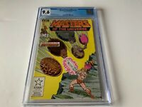 MASTERS OF THE UNIVERSE 2 CGC 9.6 WHITE PAGES MARVEL COMICS 1986
