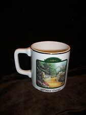 Thomas Kinkade Hidden Cottage Lefty Left Handed Person'S Coffee Mug