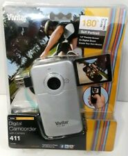 Vivitar DVR411 Digital Camcorder with Camera Black Brand new sealed Pocket