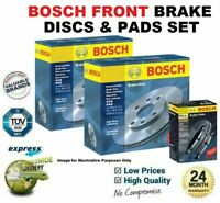 FRONT BRAKE DISCS and PADS SET for FIAT DUCATO Box 180 Multijet 3.0 D 2011->on