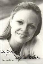 Autogramm - Sabine Biber