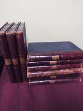 1908-1911 KJV Bible - Manuscript Bible - 9 Folio  Volumes
