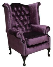 Echter Chesterfield  Ohrensessel Sessel Couch Sofa Polster Sitz Lounge Relaxsitz