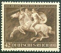 DR Deutsches Reich Nr. 780 sauber postfrisch Braune Band 1941 Motiv Pferde MNH