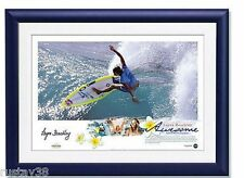 New listing LAYNE BEACHLEY HAND SIGNED FRAMED LIMITED AWESOME' SURFING WORLD CHAMPION PRINT