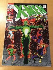 X-MEN #51 fine 6.0 1969