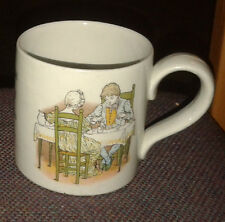 Vintage/Retro Burleigh Ironstone Jack Spratt Small Child's Mug - VGC
