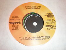 The Williams Brothers 45 A Mother's Love MYRRH