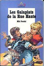 SAFARI SIGNE DE PISTE N°15 LES GALAPIATS DE LA RUE HAUTE - Fondal 1971 Joubert c