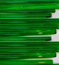 1lb Devardi Glass Rods Lampwork COE 104 Tr Med Dk Green