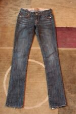 Rich & Skinny Womens Designer True Blue Vintage Jeans size 24