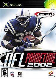 ESPN NFL PrimeTime 2002 (Microsoft Xbox, 2002)
