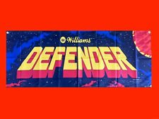 LARGE Defender - Arcade Video Game Banner Flag Poster FREE SHIPPING