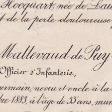 Amédée Louis Arthur De Mallevaud De Puy-Renault 1883