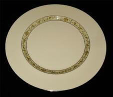 "Lenox, Springdale Yellow Flowers & Leaves, Platinum Trim, Dinner Plate, 10 1/2"""