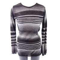 frogbox Princess Goes Hollywood Women's Pullover Black 36 Striped NP 98 NEW