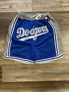 Los Angeles Dodgers Summer City Baseball Shorts Brand New Stitched M-XL