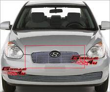 Fits Hyundai Accent 4 Door Billet Grille 09-11 2011