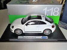 VW VOLKSWAGEN BEETLE COUPE Sun Flow Giallo a partire dal 2012 1//18 KYOSHO modello auto con O..