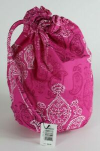 Vera Bradley STAMPED PAISLEY - DITTY BAG - Pouch New!