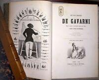 D'Exception GAVARNI E.O.de 320 Gravures Belle Rel. Œuvres choisies, 1845-1848
