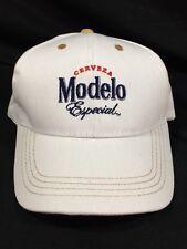 Modelo Beer Baseball Hat White Cap Beach Golf Bar New!