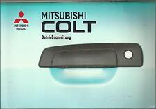 MITSUBISHI  COLT 5 Betriebsanleitung 1997 Bedienungsanleitung  Handbuch BA