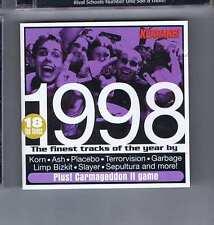 KORN / ASH / PLACEBO / TERRORVISION / GARBAGE + 1998 FINEST TRACKS KERRANG CD