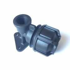 Philmac S3 Wall Plate Tap Elbow  25mm -1/2'' BSP Water Pipe Fitting MDPE ±72