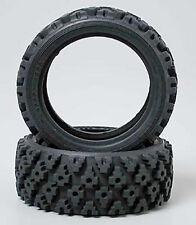 NEW Tamiya 1.9  Block Soft Rally Tires (2) 50476
