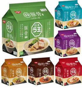 NISSIN Raoh ramen noodle soup (inc 5x 83g separate packets)