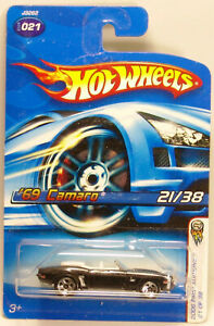 Hot Wheels 2001 #21 - J3262 - First Editions - '69 Camaro