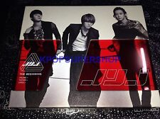JYJ The Beginning Normal Ed CD Great Cond OOP Limited Edition TVXQ DBSK XIA