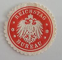 Reichstag Bureau GERMAN LETTER SEAL (7322)
