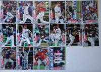 2020 Topps Series 1 Washington Nationals Base Team Set of 16 Cards