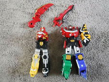 Power Rangers Samurai Megazord 2011 & MegaForce Gosei Great Megazord *incomplete