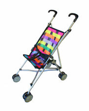 Multi-Coloured Doll Prams