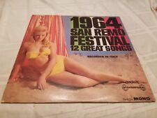 1964 San Remo Festival - 12 Great Songs - Vinyl Record LP - Mono TW 91332