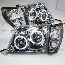 1998 to 2003 Year For TOYOTA Prado 3400 FJ90 LC90 LED Headlights Silver Housing
