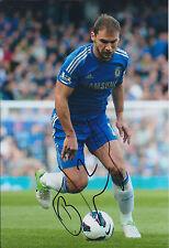Branislav IVANOVIC Signed Autograph 12x8 Photo AFTAL COA Chelsea Serbian