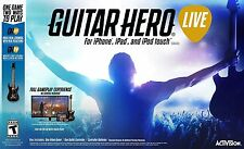 Guitar HERO LIVE Game and Guitarra Mando Conjunto APPLE TV iPhone iPad iOS